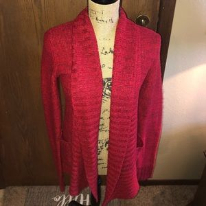 Sweaters - Super Soft Cozy Red Cardigan